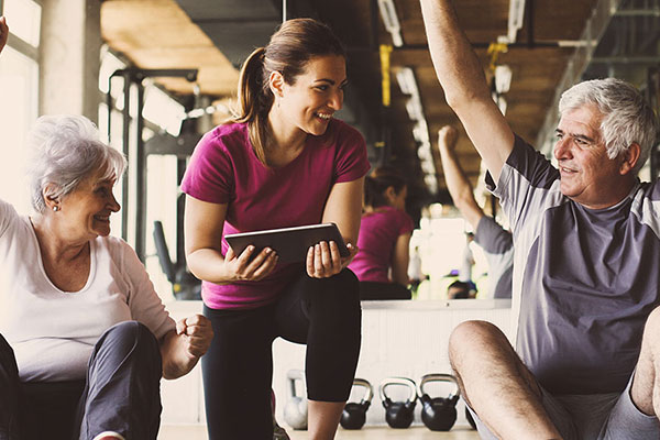 Fitness for the over-65s